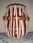 Tabla dayan with a new pudi.
